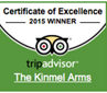 KinmelArms-TripAdvisor-Winner2015
