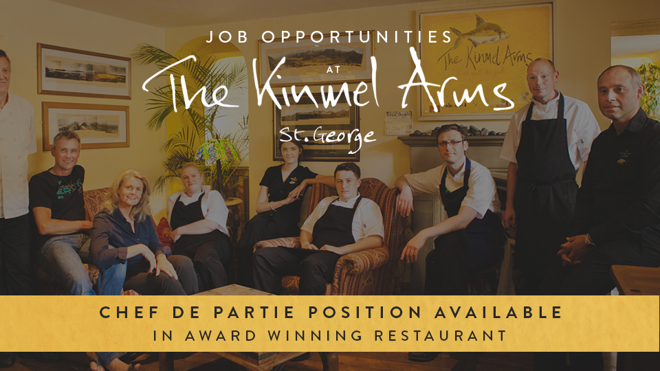 Chef-de-Partie Position at The Kinmel Arms