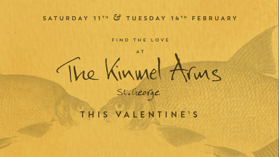 Book a table for Valentine's at The Kinmel Arms