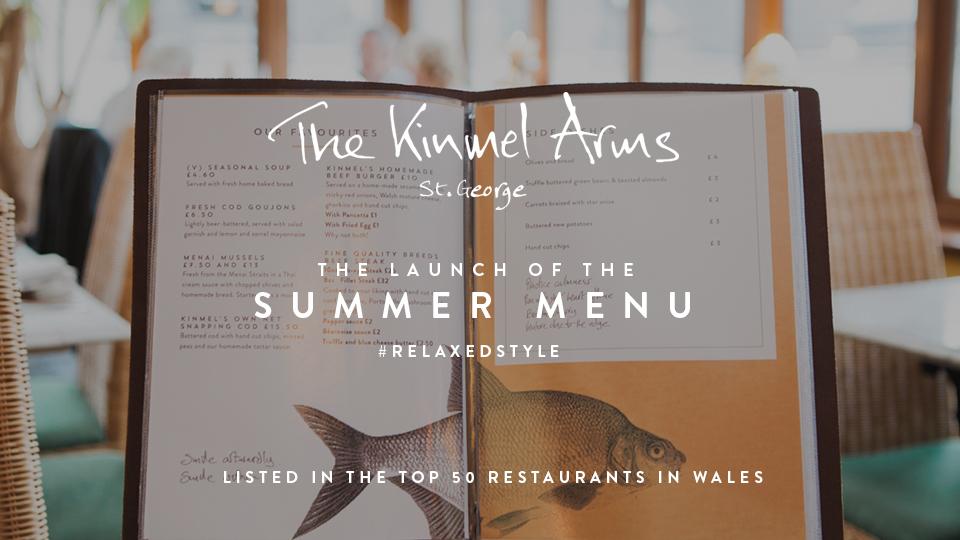 The Kinmel Arms Summer Menu