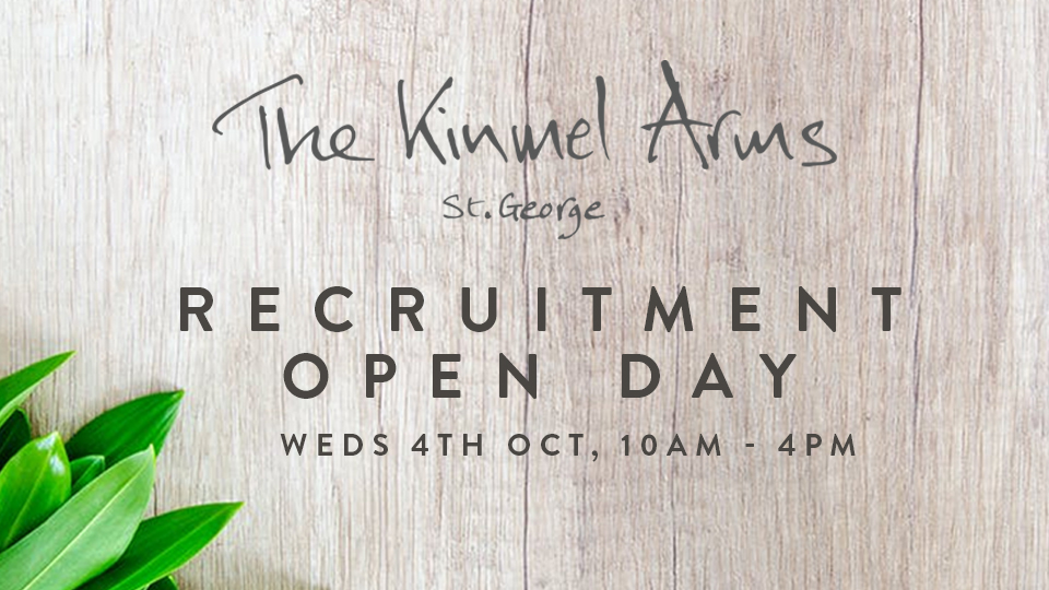 Recruiting at The Kinmel Arms