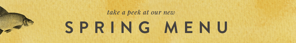 The Kinmel Arms Spring Menu | Take a peek
