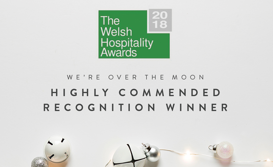 Kinmel Arms wins Welsh Hospitality Award 2018